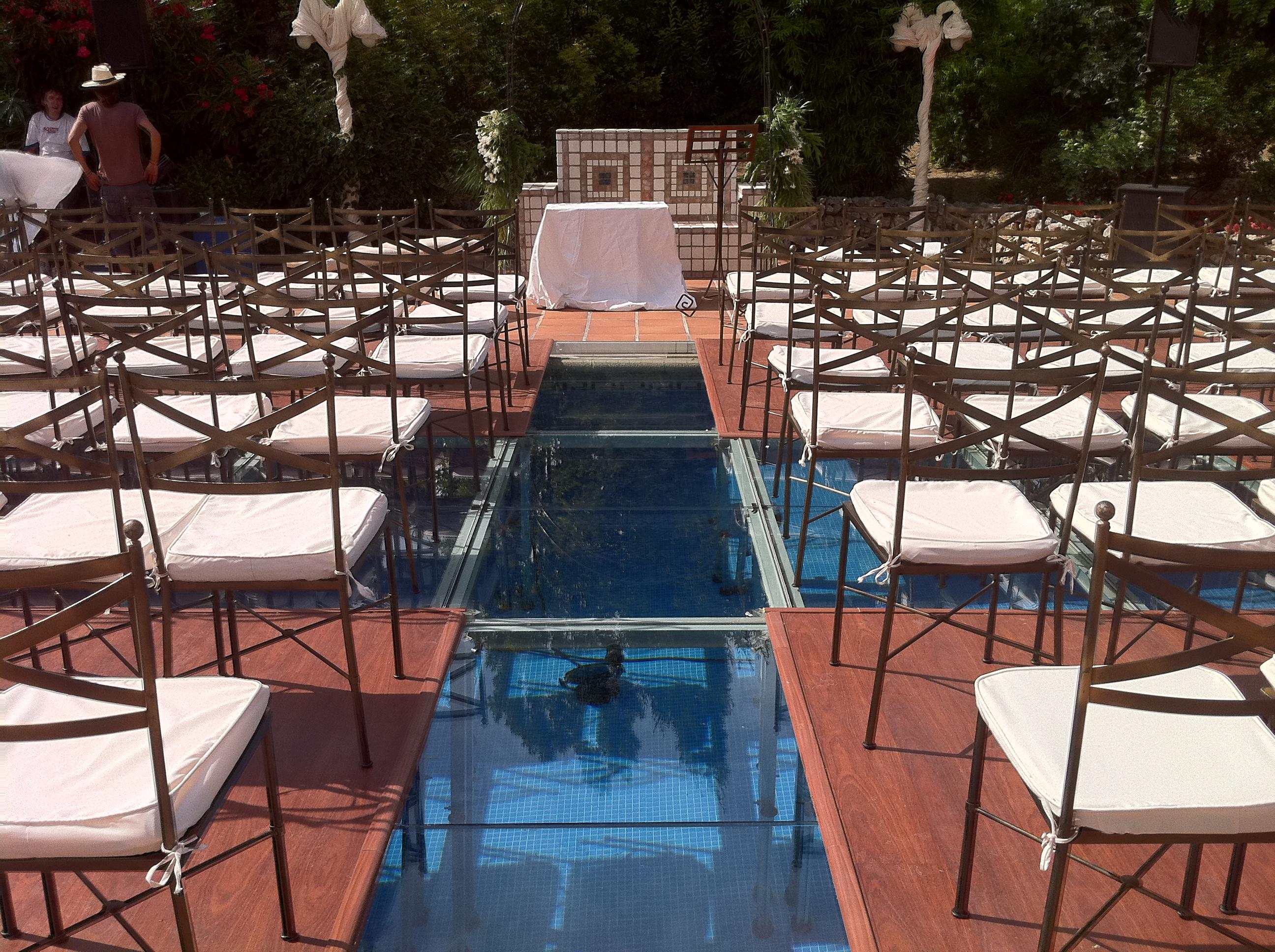 Cubrimiento de piscina